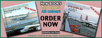 Great Classic Airliner books with 120 all-colour photo pages, purchase today.