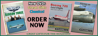 Classic Airline DVDs for the holidays.