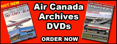 Air Canada's historical film archives are now available on DVD.