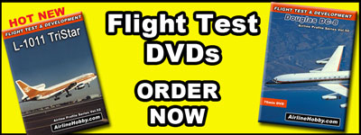 Classic Airliner Flight Test DVDs.