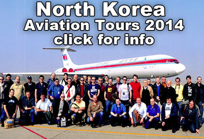 North Korea Aviation Tours 2014.