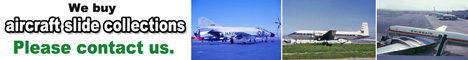 We purchase aircraft slide collections