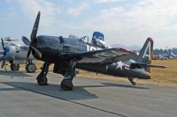 Photo: United States Navy, Grumman F8F-2 Bearcat, NX800H