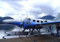 Photo: Vancouver Island Air, Beech D18S, C-GVIB