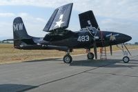 Photo: United States Navy, Grumman F7F Tigercat, N6178C