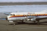 Photo: First Air, Hawker Siddeley HS-748