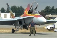 Photo: Canadian Armed Forces, McDonnell Douglas CF-18 Hornet, 118796