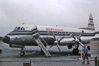 Photo: Northeast Airlines, Vickers Viscount 800