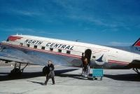 Photo: North Central Airlines, Douglas DC-3