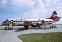Photo: Air Canada, Vickers Viscount 700, CF-TIF