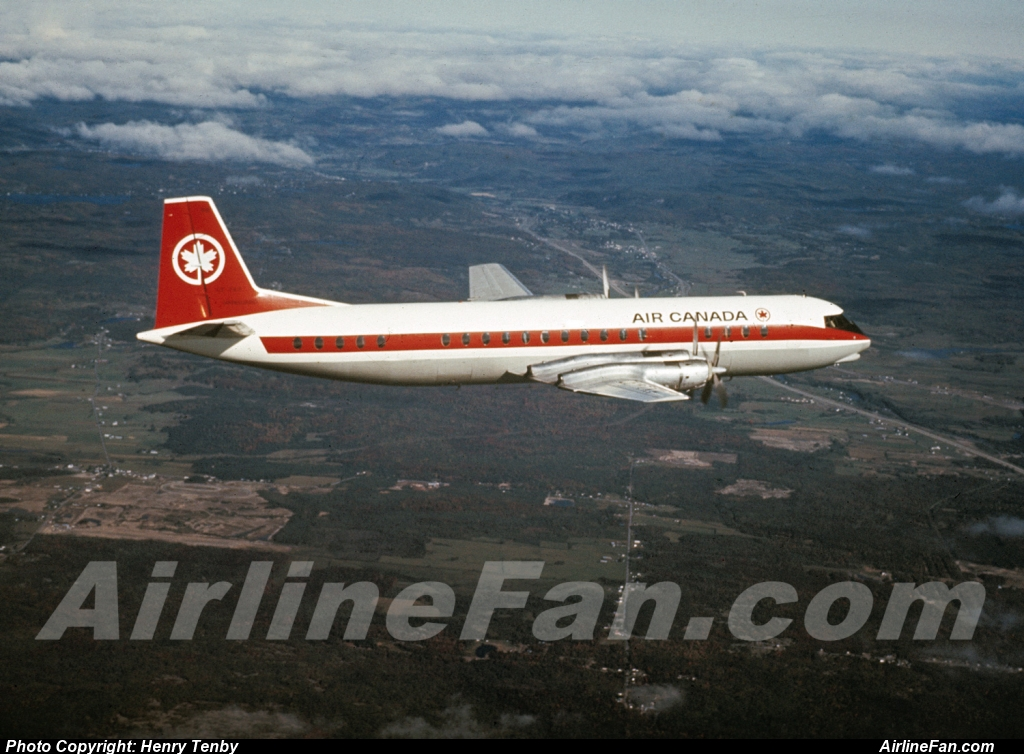 When Trans-Canada Air Lines was renamed Air Canada in 1965, all the types were taken up for a new round of air-to-air publicity shots, which was the occasion for this lovely image, originally from Air Canada archives. This photo of CF-TKP is actually a photo teaser from my book