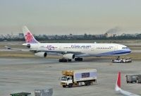 Photo: China Airlines, Airbus A340-200/300, B-18806