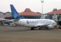 Photo: Garuda Indonesia, Boeing 737-300, PK-GGG