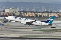 Photo: WestJet, Boeing 737-800, C-FKRF