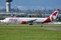 Photo: Air Canada Rouge, Boeing 767-300, C-GBZR