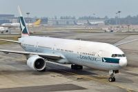 Photo: Cathay Pacific Airways, Boeing 777-300, B-HNF