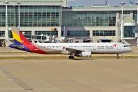 Photo: Asiana Airlines, Airbus A321, HL8266