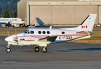 Photo: Canadian Ministry of Transport, Beech King Air, C-FGXS