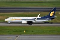 Photo: Jet Airways, Boeing 737-800, VT-JBK