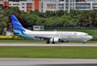 Photo: Garuda Indonesia, Boeing 737-800, PK-GMM