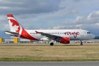 Photo: Air Canada Rouge, Airbus A319, C-FYNS
