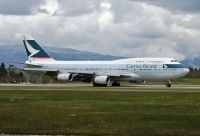 Photo: Cathay Pacific Airways, Boeing 747-400, B-HUA