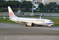 Photo: China Airlines, Boeing 737-800, B-18609