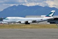 Photo: Cathay Pacific Airways, Boeing 747-400, B-HOY