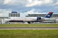 Photo: US Airways Express, Canadair CRJ Regional Jet, N423AW