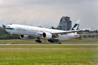 Photo: Cathay Pacific Airways, Boeing 777-300, B-KQL