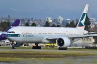 Photo: Cathay Pacific Airways, Boeing 777-300, B-KQR