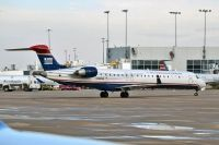 Photo: US Airways Express, Canadair CRJ Regional Jet, N326MS