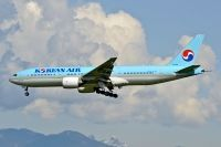 Photo: Korean Air, Boeing 777-200, HL7526
