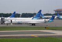 Photo: Garuda Indonesia, Bombardier CRJ-1000, PK-GRH