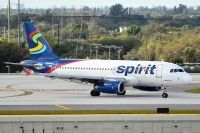 Photo: Spirit Airlines, Airbus A319, N515NK
