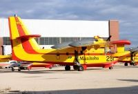 Photo: Government of Manitoba Air Service, Canadair CL-215, C-GUMW