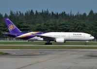 Photo: Thai Airways International, Boeing 777-200, HS-TJB