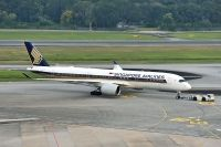 Photo: Singapore Airlines, Airbus A350, 9V-SMJ