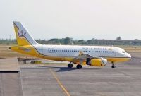 Photo: Royal Brunei Airlines, Airbus A319, V8-RBP