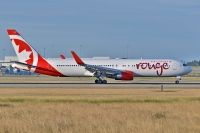Photo: Air Canada Rouge, Boeing 767-300, C-FIYE