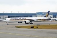 Photo: Singapore Airlines, Boeing 777-300, 9V-SWB