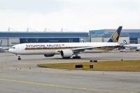 Photo: Singapore Airlines, Boeing 777-300, 9V-SWB