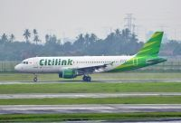 Photo: Citilink, Airbus A320, PK-GLG