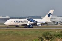 Photo: Malaysia Airlines, Airbus A380, 9M-MNB