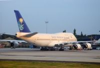 Photo: Saudi Arabian Airlines, Boeing 747-300, HZ-AIR