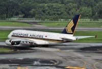 Photo: Singapore Airlines, Airbus A380, 9V-SKQ