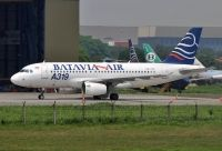 Photo: Batavia Air, Airbus A319, PK-YVC