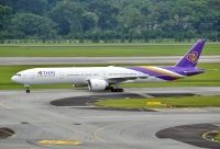 Photo: Thai Airways, Boeing 777-300, HS-TKQ