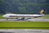 Photo: Singapore Airlines Cargo, Boeing 747-400, 9V-SFN