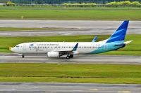 Photo: Garuda Indonesia, Boeing 737-800, PK-GFE